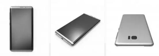 Render 3D Samsung Galaxy S8