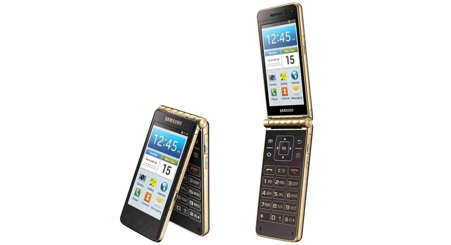 Samsung flip phone android dual screen
