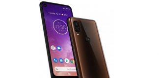 Motorola One Vision warna coklat